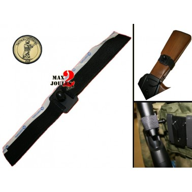 tuc tactical clip attache universelle pour crosse AK / pompe...