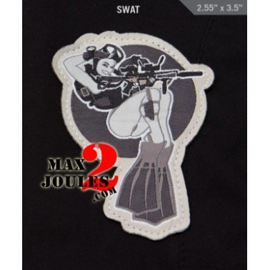 patch velcro dive girl swat msm-p-126-swat