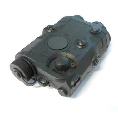 boitier AN/peq + laser rouge  pour batterie