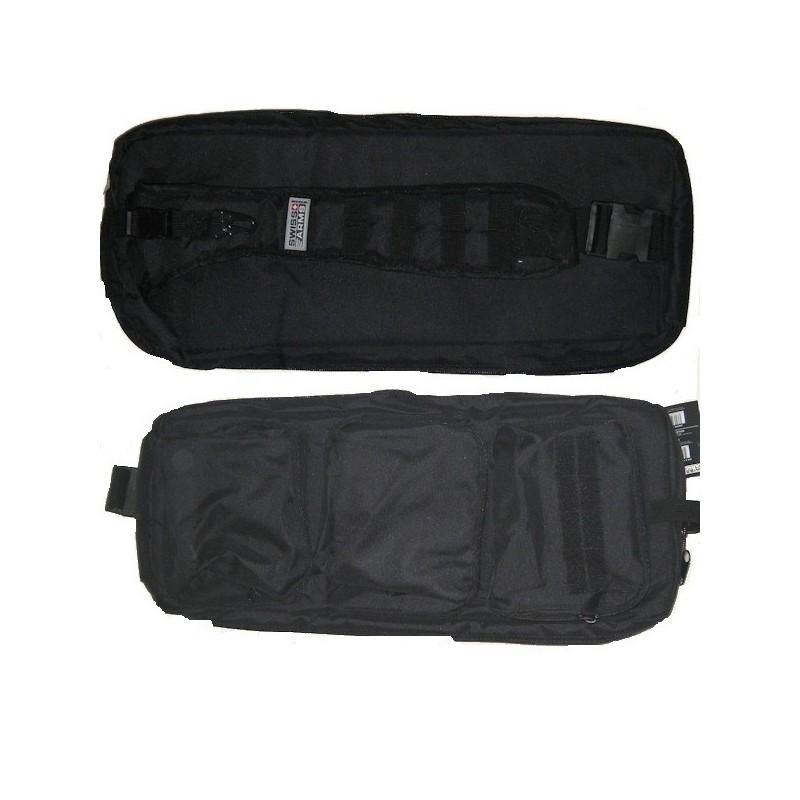 Housse noir pour fusil 61cm 604084 for Housse fusil