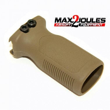 poignee grip vertical type RVG tan