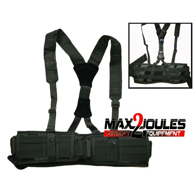 acheter pas cher plus tard pas cher à vendre ceinture + bretelles NIJRAB Camo CE 1680 deniers 604120