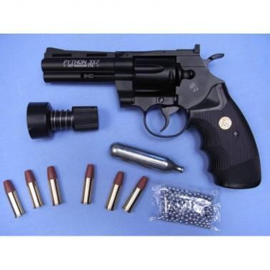 """revolver colt python 4"""" 357 magnum 4.5mm co2 umarex 58194"""