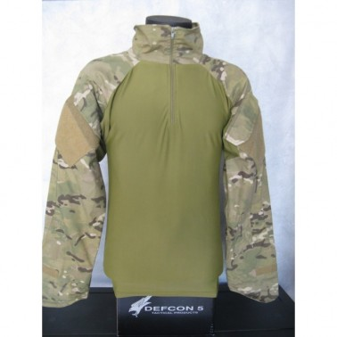 combat shirt lycra multicamo defcon5 d5-1603 mc