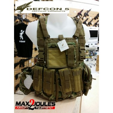 gilet chest rig multicamo defcon5 d5-rc901 mc