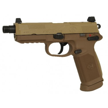 FN FNX-45 tactical dark earth gas blowback 200503