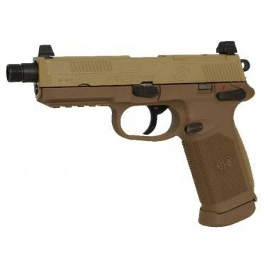 FN FNX-45 tactical dark earth gas blowback 200503