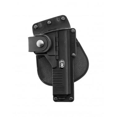holster droitier pour glock 17 s17 avec porte lampe tactique bo fobus ge15200