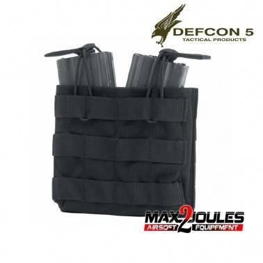 poche chargeur double black defcon5 pour m4 et ak d5-m4akdo b