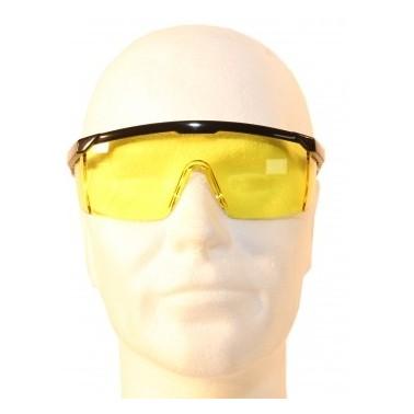 lunettes de protection jaunes 7220j
