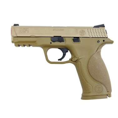 smith & wesson m&p9 gbb tan 320513