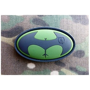 patch velcro buttman foret