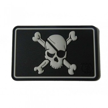 patch velcro pirate skull swat