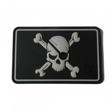patch velcro pirate skull swat
