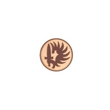 patch pvc velcro  legion etrangere sable
