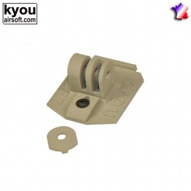nvg mount for vozmodel ou gopro tan kyou