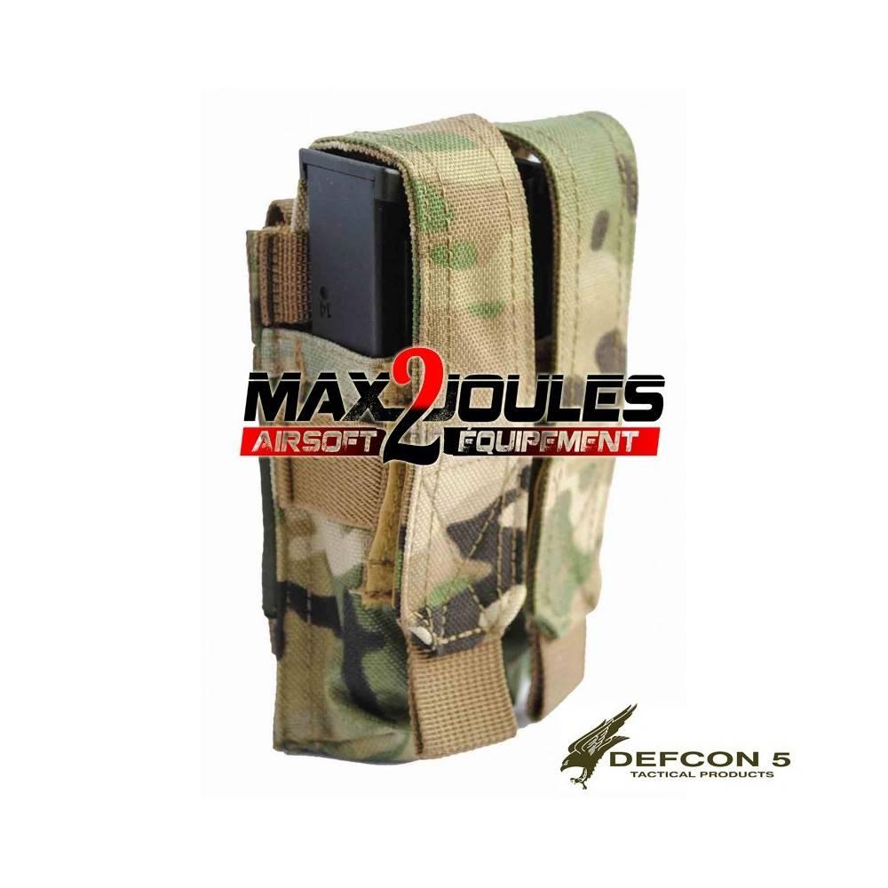 poche chargeur double PA ripstop multicam defcon5 d5-pm02 mc