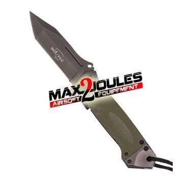 couteau pliant DA35 vert 15344501