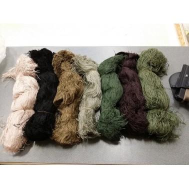 lot de laine de couleur vegetal