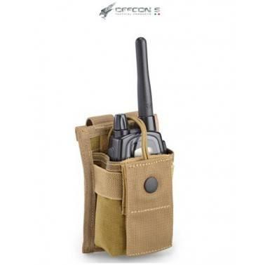 poche porte radio molle coyote tan defcon5 d5-rp01 ct