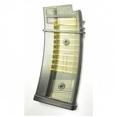 chargeur gsg14 transparent avec douilles 45bb's 135013