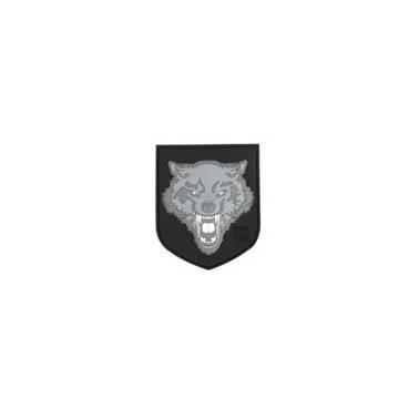 patch velcro wolf noir et gris