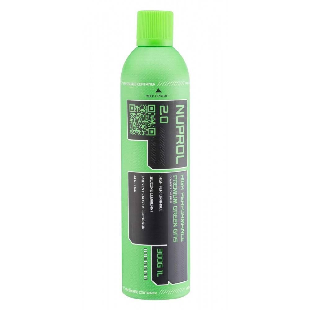 nuprol gaz premium 2 0 vert green gaz bouteille 1000ml. Black Bedroom Furniture Sets. Home Design Ideas