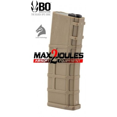 chargeur polymer m4 lonex bo tan mid cap 200 bb's mr10155
