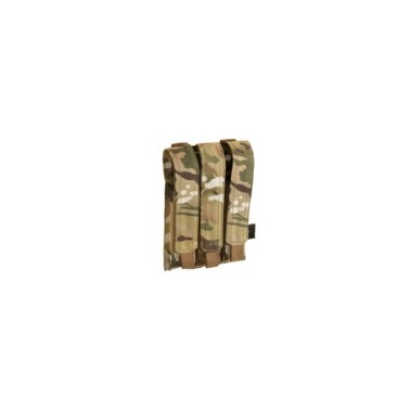 poche porte chargeur mp5 multicam molle 3 emplacements invader gear