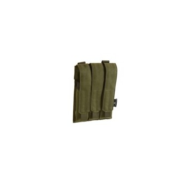 poche porte chargeur mp5 mp9 od molle 3 emplacements invader gear