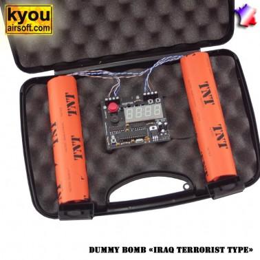 bombe mallette bz20 dummy bombe ( iraq terrorist type )