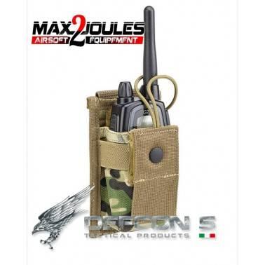 poche porte radio molle multicam defcon5 d5-rp01 mc