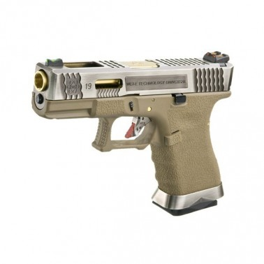 g-force s19 gbb t4 argent or tan 0.9j WE