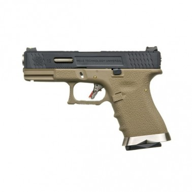 g-force gbb t2 noir argent tan 0.9j WE