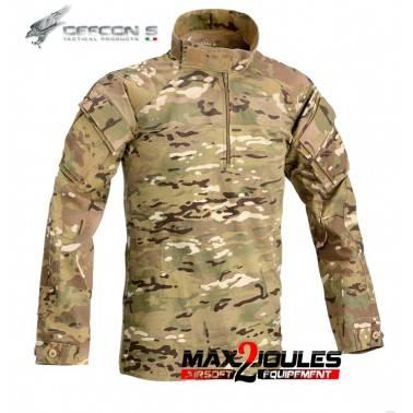 chemise de combat full cam multicam defcon5