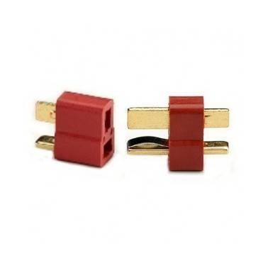 lot de 2 cosses connecteurs T plug dean