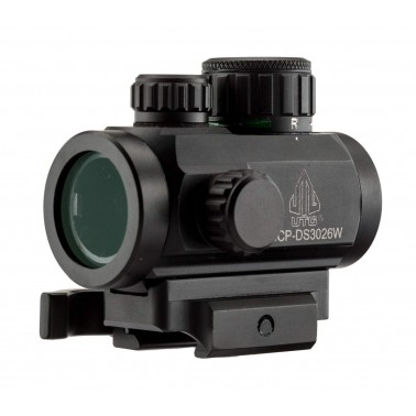 "optic utg micro dot 2.6"" ITA point rouge ou vert demontage rapide scp-ds3026w"