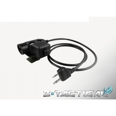 bouton U94 z-tactical z-113 PTT pour motorola 2 voies version