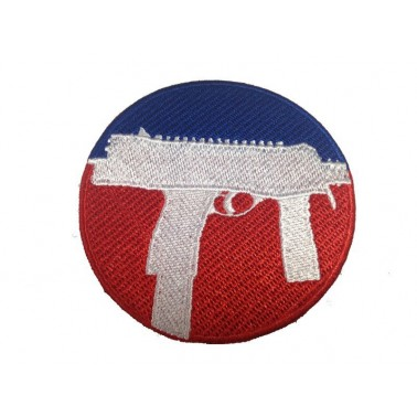 patch velcro mp9 tmp diam 7.5cm