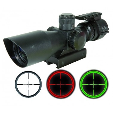 compact scope 3-9x40 swiss arms