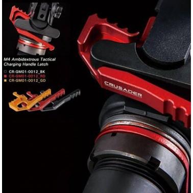 tactical charging handle ambidextrous noir crusader