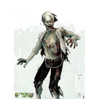 cible geante zombie 1 : 50x70cm