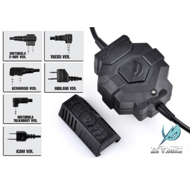 bouton sans fils wireless ptt midland z123 z-tactical