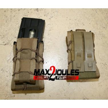 poche  TAN double chargeur fusil et pistolet TACO mag