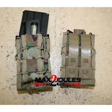 poche  MULTICAM double chargeur fusil et pistolet TACO mag