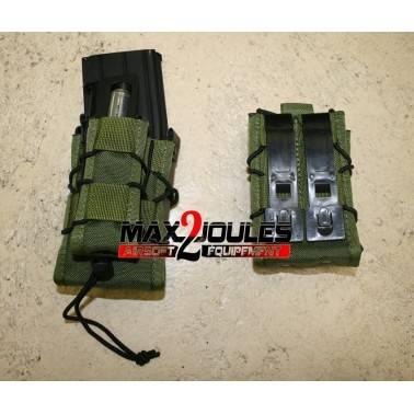 poche  OD double chargeur fusil et pistolet TACO mag