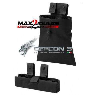 poche à gerber noir defcon5 d5-dmp910 bk