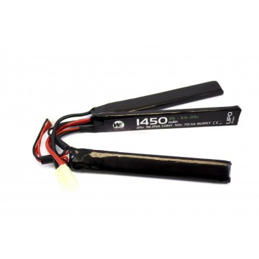 batterie lipo 11.1v 1450mah 30c 3 elements  we nuprol a63244 8057