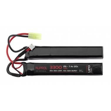 batterie lipo double stick 7.4v 3300 mah 20c a69974 8064