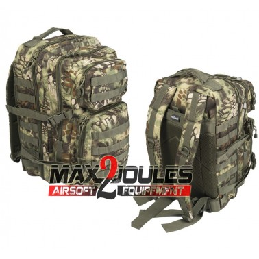 Sac us assault  kryptec woodland 50L